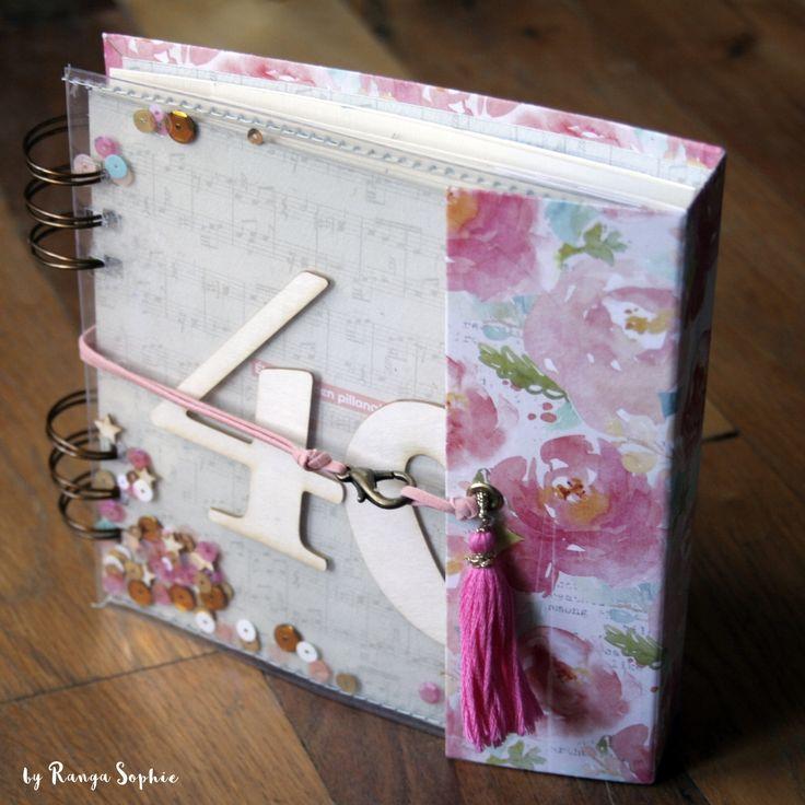 minialbum by Ranga Sophie  #scrapbook #scrapbooking #minialbum #rangasophie