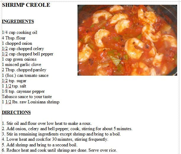 Louisiana Shrimp Creole | Seafood | Pinterest | Shrimp ...