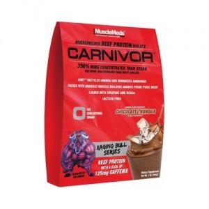 Mostantól pedig mindenki számára elérhetővé válik a marhahús hihetetlen anabolikus ereje, egy nagy adag energizáló koffeinnel kiegészítve a CARNIVOR Raging Bull Series formájában!
