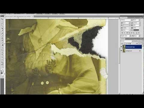 Adobe Photoshop tutorial - old photo restoration part 2 - YouTube