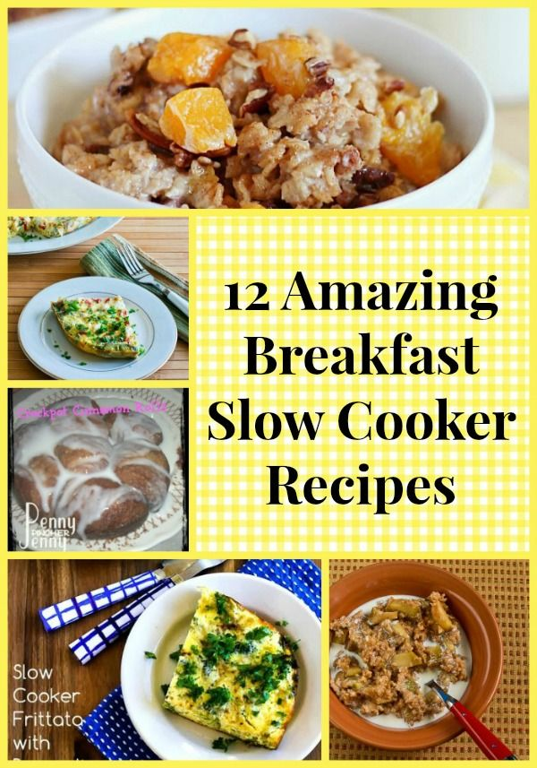 79 best images about crockpot recipes on pinterest soups for Slow cooker breakfast recipes for two