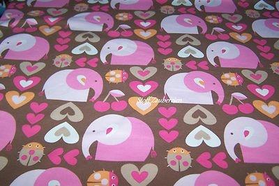 BIO  Jersey **  Girlie Elephant **    Für die kleinen Mäuschen ein großer Elefant, süße Herzchen, leckere Kirschen und lustige Käfer !              95% Bio-Baumwolle, 5% Elasthan    Breite: 160 cm