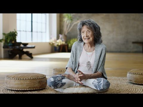 "VIDEO: 1/2017, 98 Year Old... Yoga Teacher & ""The Power Of Positivity""  Morning Mantras = #1 ~ ""NO-THING is impossible!"" #2 ~ ""The JOY of living is inside ME!"" #3 ~ ""This is going to be the best day of my LIFE!"""
