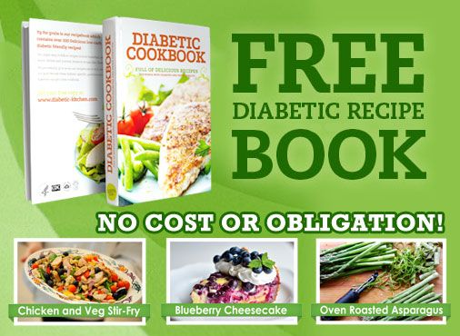 ► We're giving away a Free Diabetic Cookbook to all our visitors! Just come on by, fill in your details and we'll send it to you as fast as we can! (Click Here!)