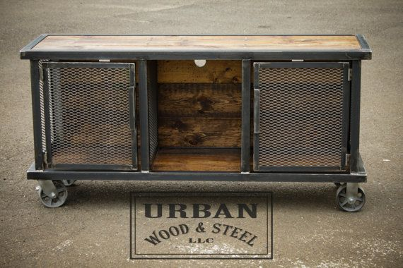 Urban Stereo Locker by urbanwoodandsteel on Etsy