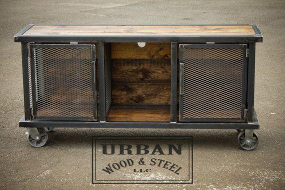Urban Stereo Locker por urbanwoodandsteel en Etsy