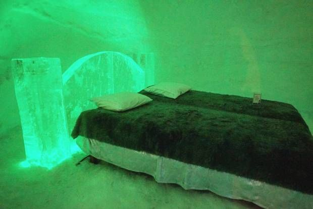 Stay in an Ice Hotel in the arctic