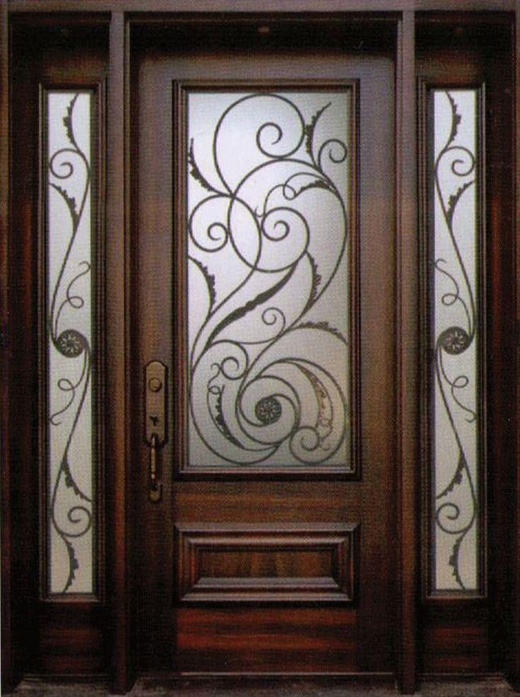 The 25+ best Iron front door ideas on Pinterest | Wrought ...