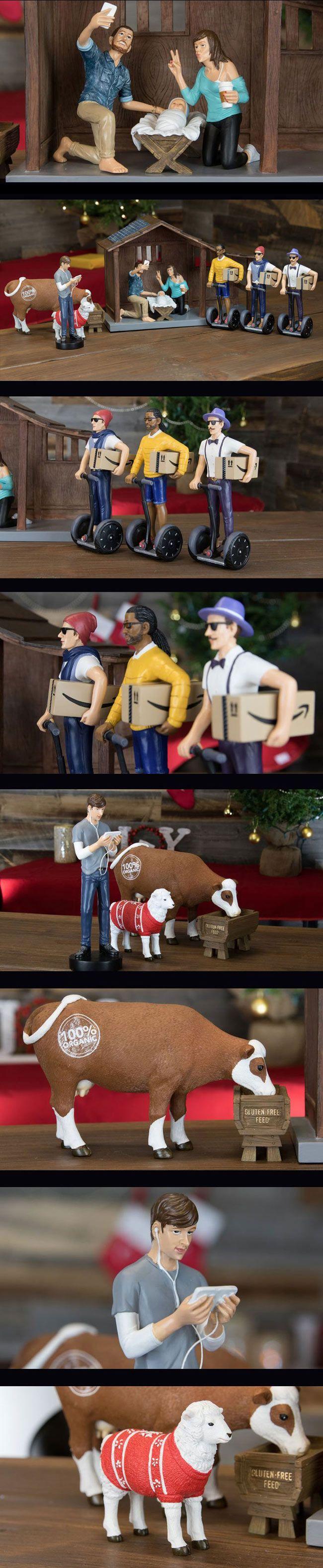 A Hipster Nativity