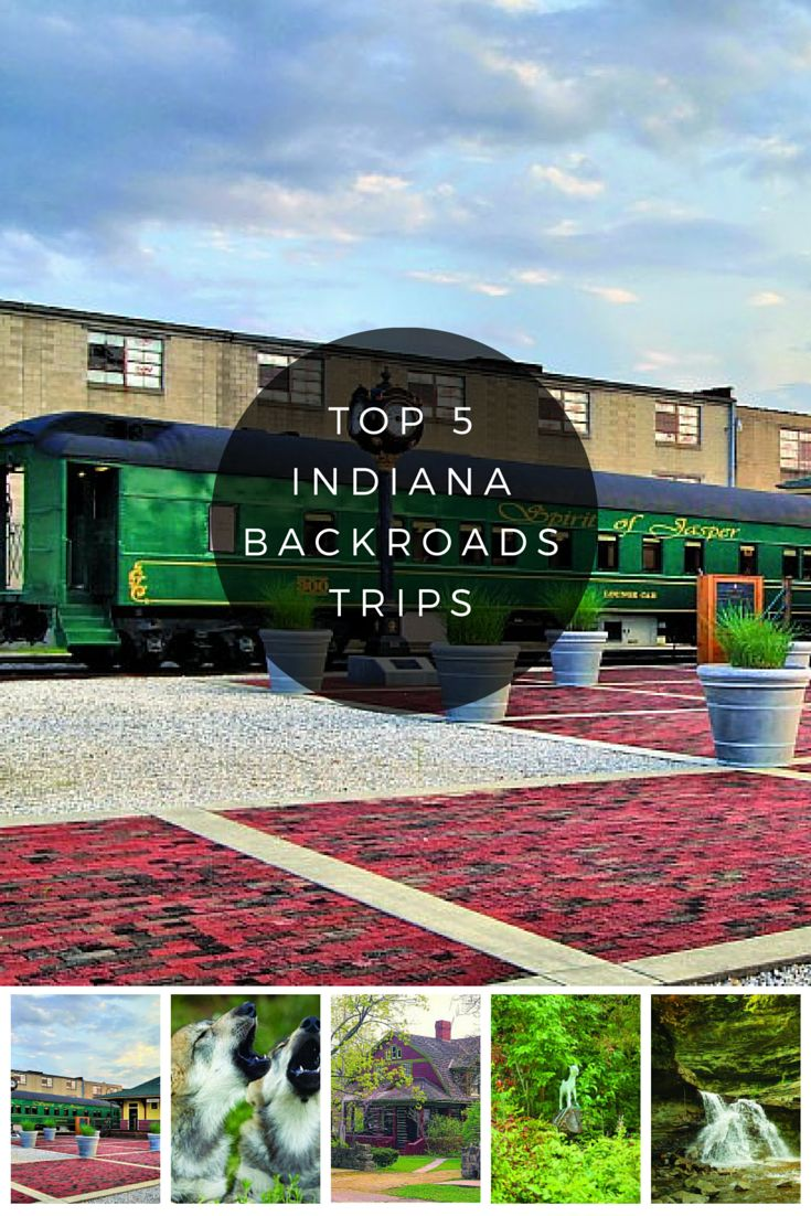 Top Five Indiana Backroad Trips