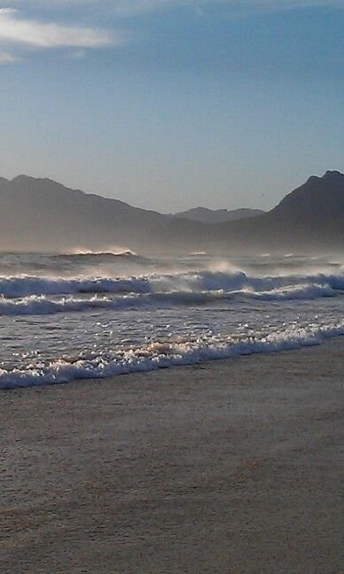 Wild, windy, magnificent. Fisherhaven in the Overberg, Western Cape.