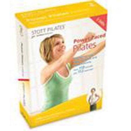 Stott Pilates: Power Paced Pilates 3 Dvd Set, Eng/Fr