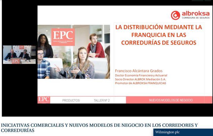 El pasado 7 de febrero, Francisco Alcántara, nuestro Director General, invitado por la Escuela de Práctica de Corredores y Corredurías (EPC) participó en el taller que analiza el cambio en el modelo tradicional de los corredores y corredurías y los nuevos modelos de negocio y de crecimiento que están surgiendo, abordando el modelo de franquicia de correduría de seguros para la distribución. #Albroksa #CorreduríaDeSeguros #FranquiciaDeSeguros #Inese #EPC https://goo.gl/dqaPA9