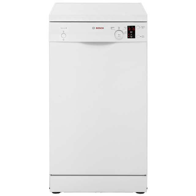 Bosch Serie 4 SPS40E12GB Slimline Dishwasher - White