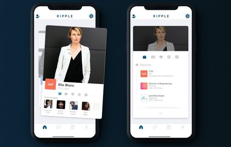 A team of former Tinder employees led by Tinders original CTO Ryan Ogle are today launching a new app aimed at professional networking. The app called Ripple aims to be a sort of mobile-first alternative to LinkedIn that addresses some of the problems common to the aging now Microsoft-owned business networking platform.  LinkedIn today has a heavy focus on job searching and head hunting which is only a subset of professional networking and is plagued with issues like unwanted connection…