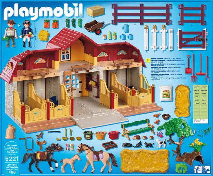 PLAYMOBIL® 5221-Großer Reiterhof mit Paddocks » Playmobil - Jetzt online kaufen   windeln.de