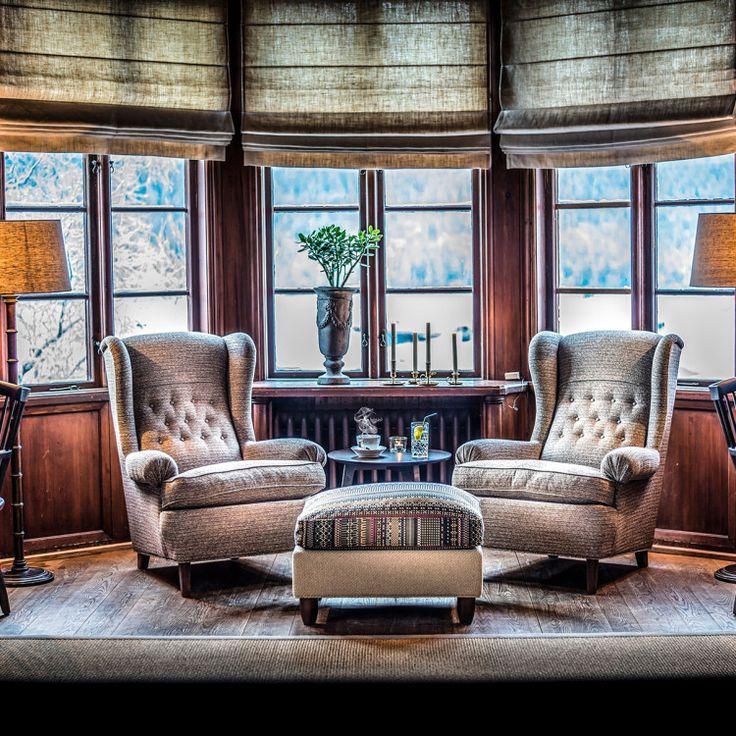 The room of the famous designer Carl Malmsten! Scandinavian design