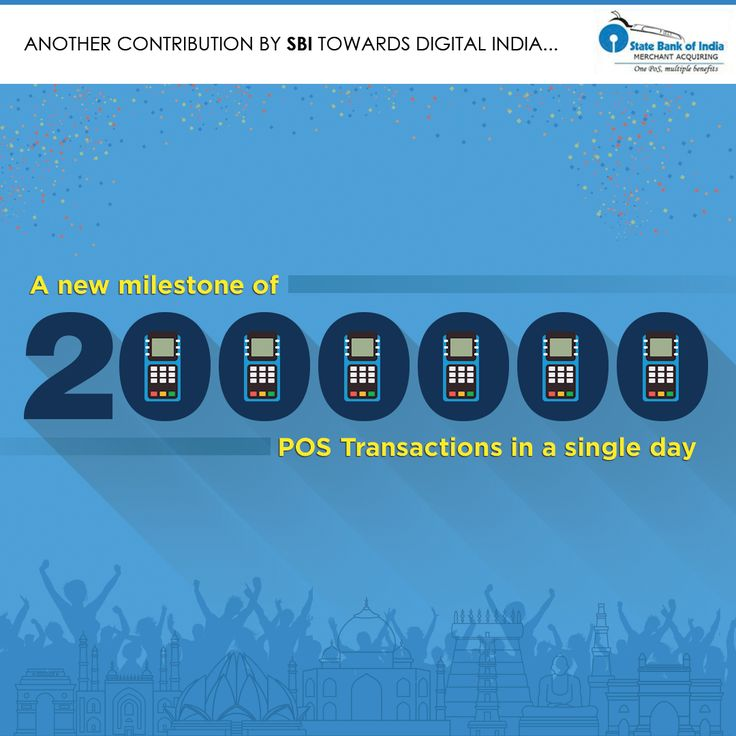 With 2,000,000 POS transactions in a day, SBI is moving towards a #DigitalIndia.