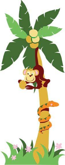 Commit business jungle monkey street swinging through wall