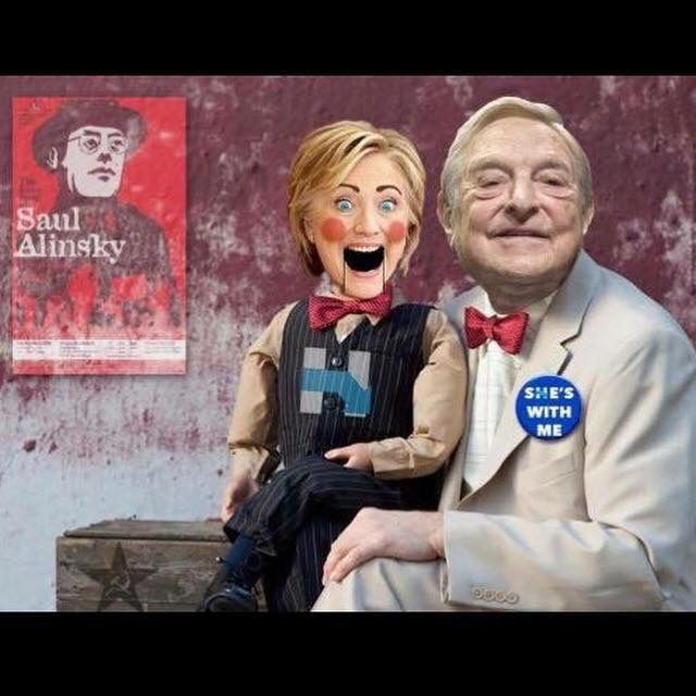 Soros the puppet master. The goof balls of socialism and radical behaviors. How many skeltons are in your closets? Two old farts that smell like sulfer. Everything you have belongs to GOD!!!Your bodies are to be temples of the LORD, but apparently you both abuse them in the worst kinda ways. Repentance is the key to salvation whether you like it or not!!!