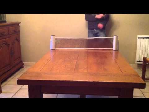 Faire un smash au tennis de table - Smash ping pong  #faire #smash #table