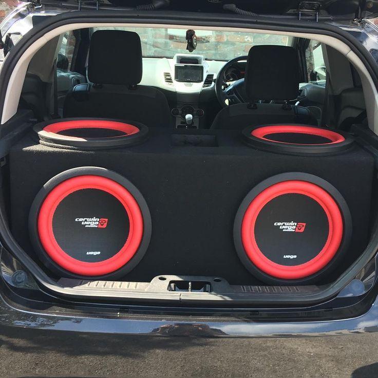 #veganationUK Check out Lewis Rodger's Cerwin Vega Mobile build. Ford Fiesta…