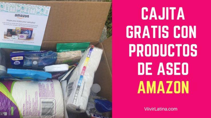Esta fue la cajita gratis productos de aseo de Amazon. Una de nuestras favoritas.