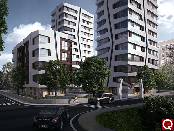 Residential Tower Complex on Behance