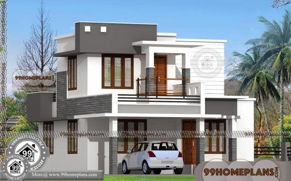 Duplex House Plans Two Floor City Type Narrow Lot Modern Home Ideas Simple House Design Duplex House Design Duplex House Plans
