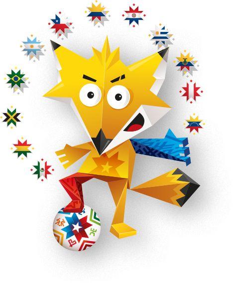 Copa America Chile 2015 virtual sticker collection