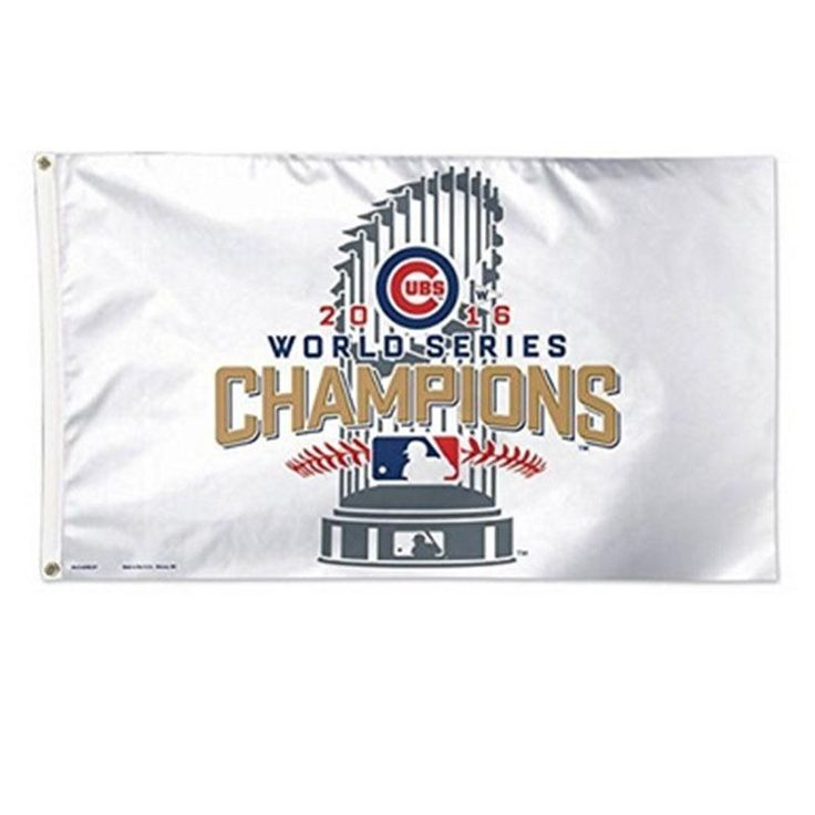 90X150CM Chicago Cubs Baseball Game Champions Flag Banner Towel MLB/W Supplies