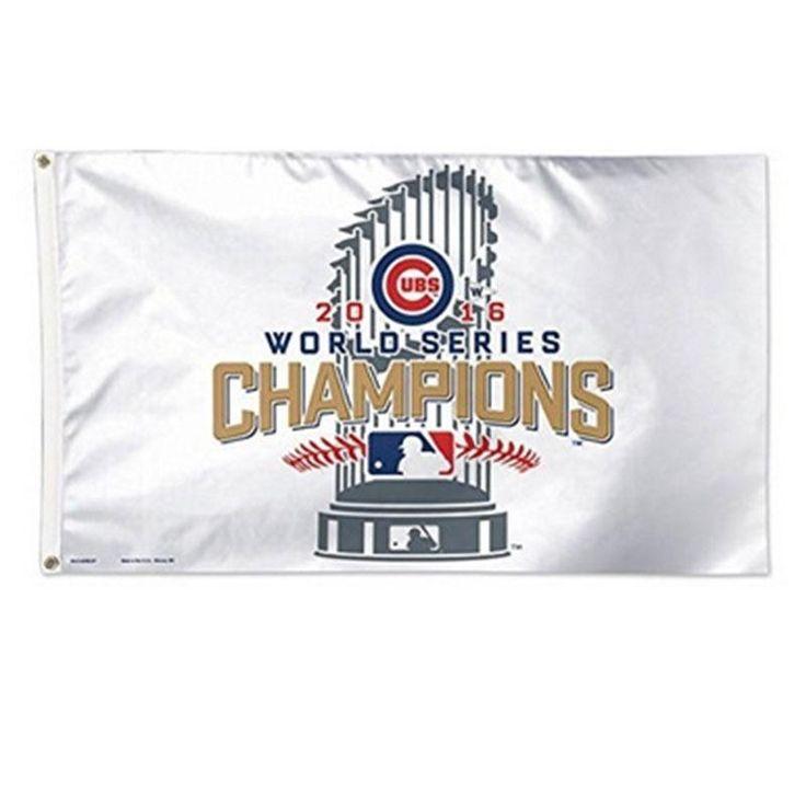 90X150 CM Chicago Cubs di Baseball Gioco Champions Bandiera Banner Tovagliolo MLB/W Forniture