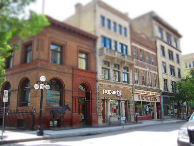 Exchange District - Winnipeg Architecture