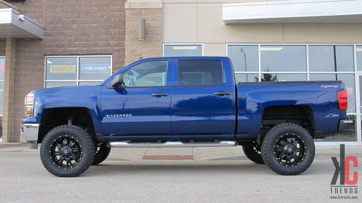 2014 Chevy Silverado Lifted Blue | www.imgkid.com - The