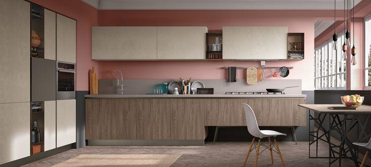 cucine moderne stosa - modello cucina infinity 07