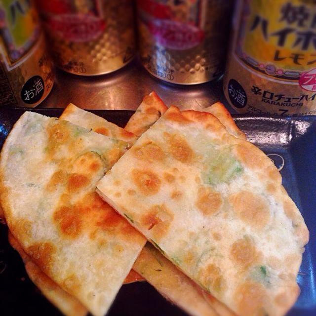 台湾で食べた味の再現トライ - 57件のもぐもぐ - 葱油餅 by Masamana