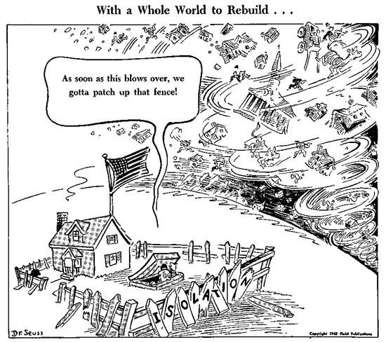 CARTOON: America's post World War I isolationism