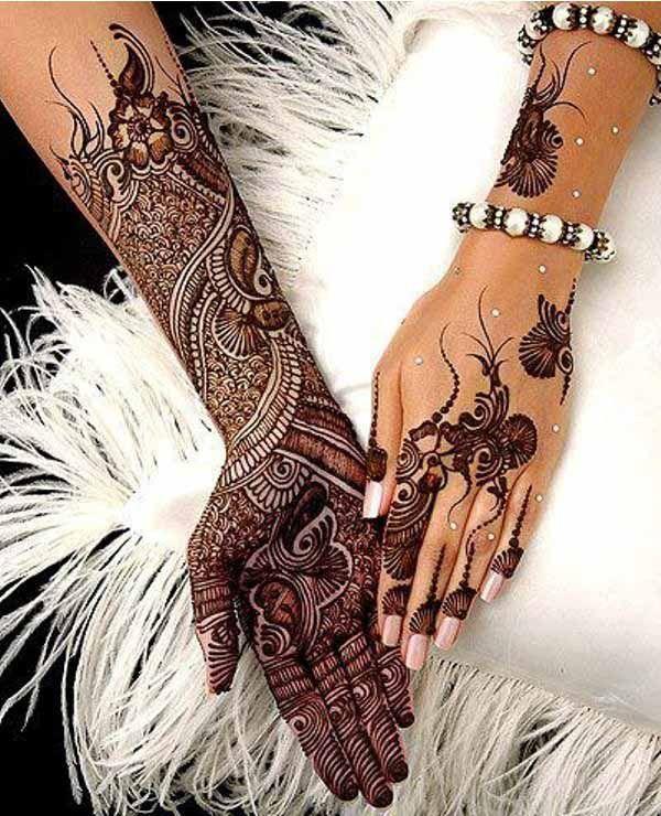 Best Bridal Henna Designs