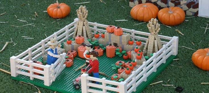 LEGOLAND® Halloween Brick-or-Treat Attraction - Colorfulplaces.com #Orlando #TravelGuide #Legoland
