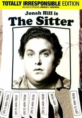 The Sitter Movie Poster 27X40 Used Lou Carbonneau, DW Moffett, Bruce Altman, Eddie Rouse, Jackie Hoffman, Jonah Hill, Sam Rockwell, Wendy Hoopes, Erin Daniels, Ari Graynor, Greg Wall, Jessica Hecht, Method Man, Nicky Katt, Nick Sandow