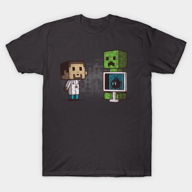 EXPLOSIVE INSIDE T-Shirt - Minecraft T-Shirt is $14 today at TeePublic!