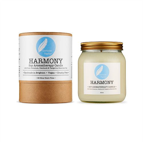 Corinne Taylor – Harmony scented candle – White
