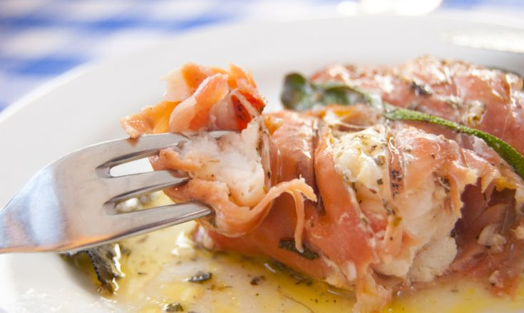 Soft, juicy monkfish wrapped in salty and crisp Bayonne ham kebabs. Perfect for a sunny summer's evening.