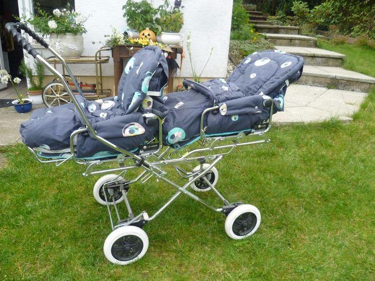 Nostalgie Sportwagen Zwillingswagen Twin Zwillingskinderwagen & als…                                                                                                                                                                                 Mehr