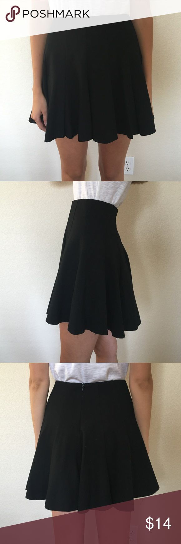 ASTR Classic Black Circle Skirt A great quality made classic black skirt staple. Made by ASTR, size small. In great condition. Astr Skirts Circle & Skater