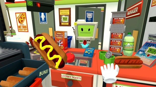 The most downloaded PlayStation VR game during the month of launch was… Job Simulator!?