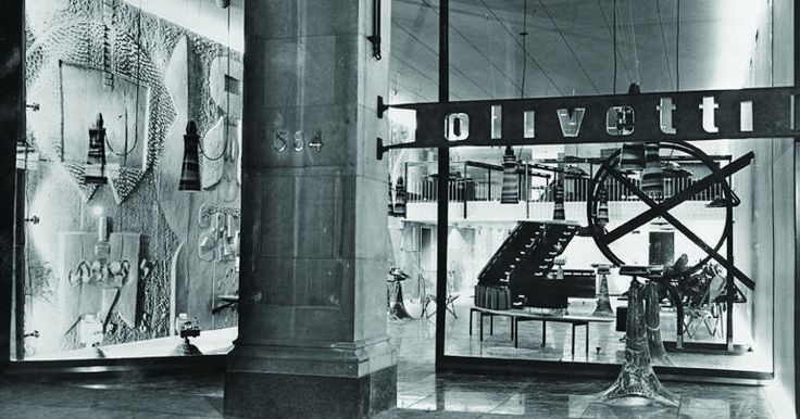 From Olivetti to Steve Jobs. The Apple store? Born in 1954