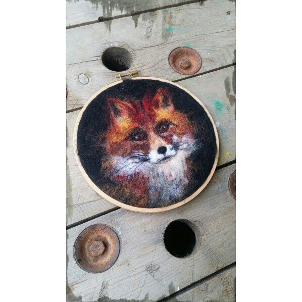 Feltingneedle, needlefelting, felted, keçe, fox, tilki, animal