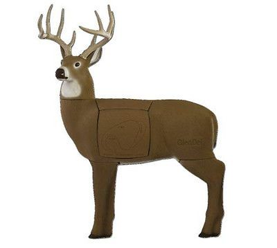 Deer Targets For Bows 3D Full-Rut Buck Target Shooter Rotating Replaceable Core