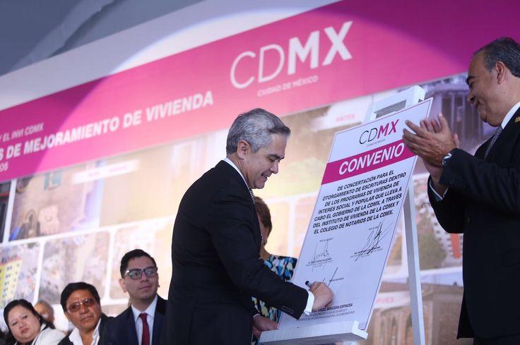 Garantiza Gobierno CDMX derecho a vivienda digna con inversión millonaria